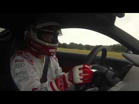 All-new Audi R8 drifting with Frank Stippler | PistonHeadsTV
