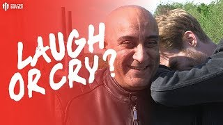 IF YOU DON'T LAUGH, YOU'LL CRY! Huddersfield 1-1 Man Utd Fan Cam