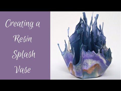 #64- Creating A Resin Splash Vase, On A Budget!