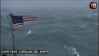 Huracán Florence llega a Estados Unidos
