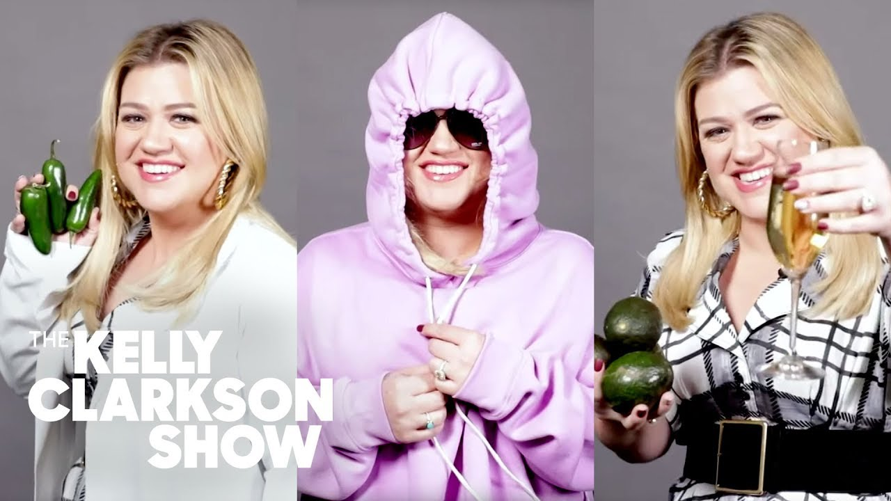 Kelly Clarkson Makes 30 Second Halloween Costumes | Digital Exclusive