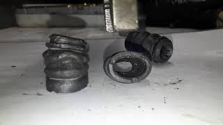 Пыльники направляющих Seinsa (ERT, Autofren) через год после установки