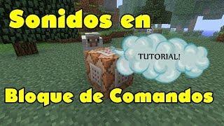 Sonidos en Bloques de Comandos | Tutorial Minecraft en Español