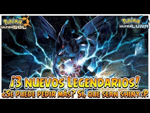 ¡3 nuevos Legendarios! ¿Se puede pedir más? Sí, que sean shiny :P - Pokémon Ultrasol y Ultraluna