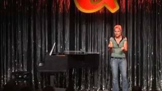 Annette Kruhl im Quatsch Comedy Club