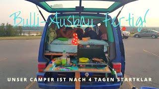 VLOG 4: Vanlife - der Van ist fertig ausgebaut! - Work Travel Balance