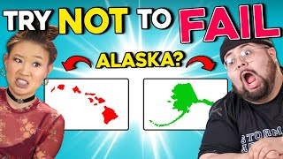 Can Americans Name All 50 States? | Try Not To Fail