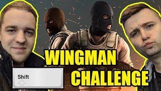 TYLKO CHODZENIE CHALLENGE! - CS:GO WINGMAN (w/ Saju)