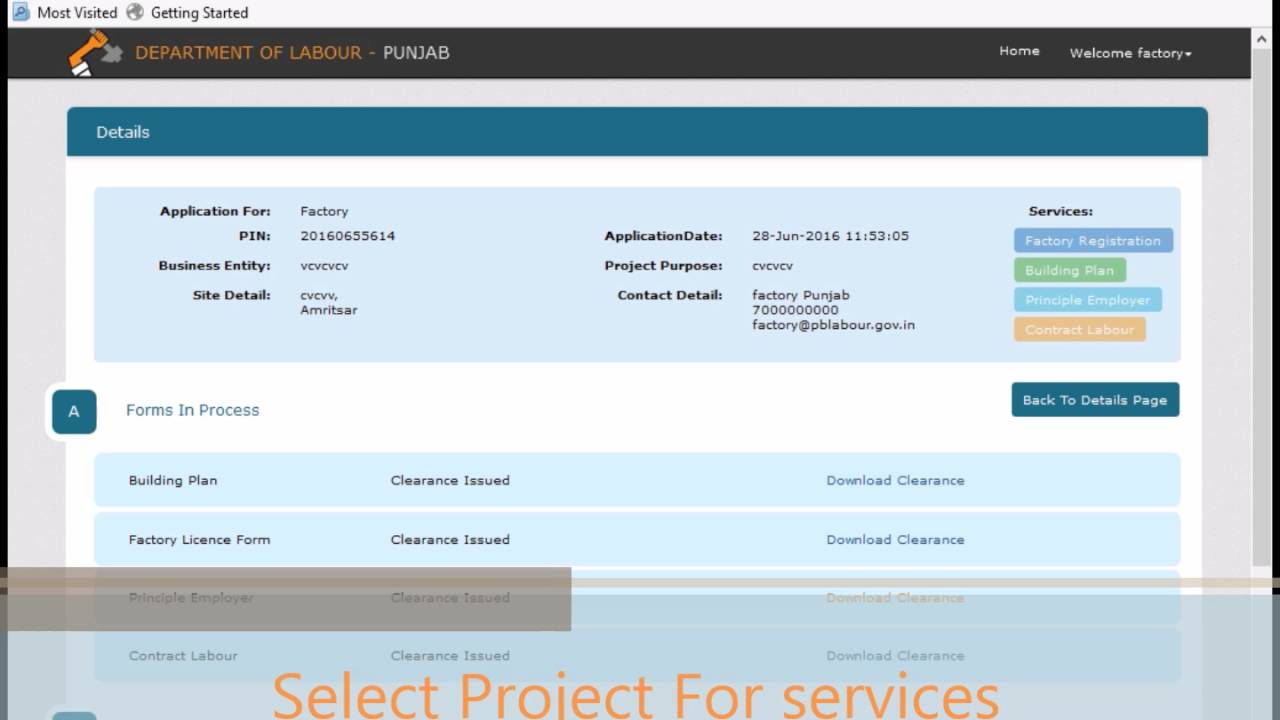 Download Licence Under Contract Labour