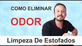 COMO ELIMINAR MAU CHEIRO NA LIMPEZA DE ESTOFADOS