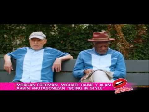 Morgan Freeman y otras estrellas hablan desde la premier de 'Going In Style'
