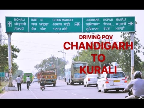 Chandigarh to Kurali driving experience | Dashcam POV | Punjab India