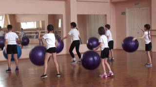Открытый урок по физической культуре. Тема: