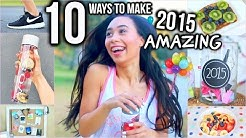 10 Ways To Make 2015 Your Year! DIY Room Decor, Healthy School Snacks +Inspiration! | MyLifeAsEva