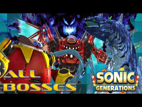 Sonic Generations | ALL BOSSES (Hard Mode)