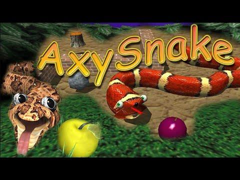 AxySnake - Змейка в 3D - Струя Ностальгии