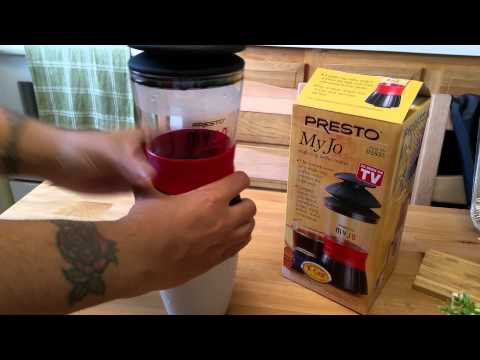 Presto Myjo Portable Coffee Maker Review