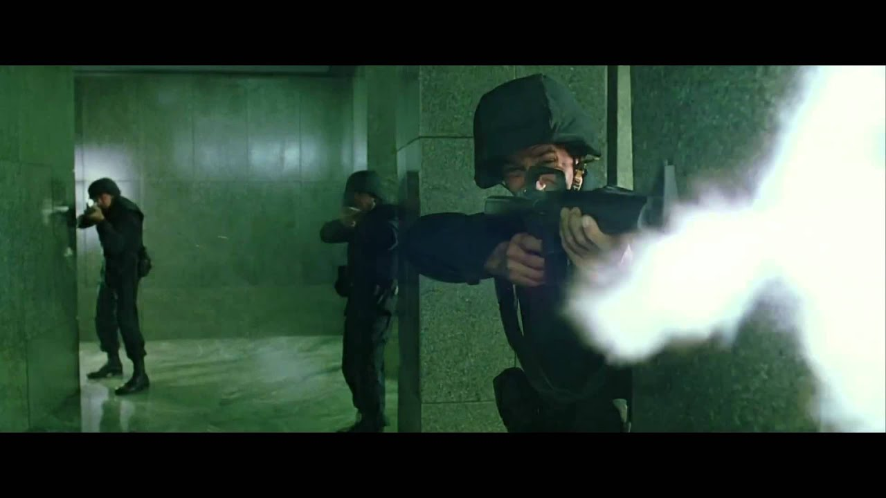 the matrix shootout in realtime youtube