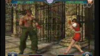KoF: Maximum Impact Maniax - Gameplay - English VAs (Xbox)
