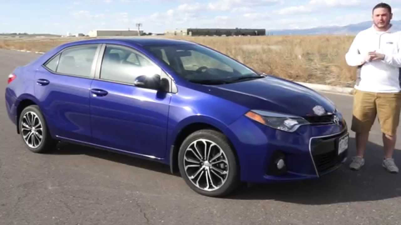 2015 toyota corolla s long youtube. Black Bedroom Furniture Sets. Home Design Ideas