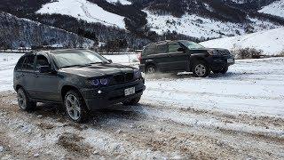 LEXUS GX 470 против BMW X5, НИВА на БЛОКЕ, SUBARU, MITSUBISHI / Оффроад Vanadzor Drivers Club