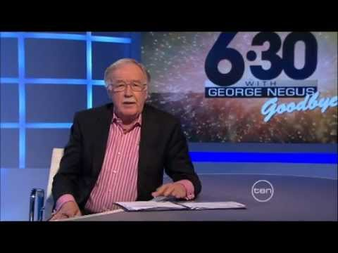 The series finale of 6.30pm with George Negus
