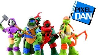 Nickelodeon Teenage Mutant Ninja Turtles Mystic Turtles Figures Video Review