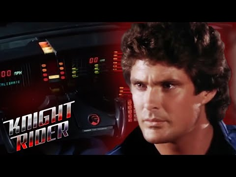 Michael is introduced to K.I.T.T. | Knight Rider