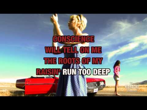 Country Conscience in the style of Michael White | Karaoke with Lyrics