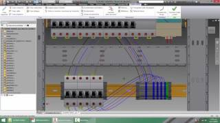 AUTOCAD ELECTRICAL 2015 - AUTODESK INVENTOR 2015 - CUADRO GENERAL 3D