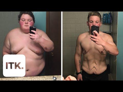Watch: Bullied boy's inspiring 189-pound weight loss journey