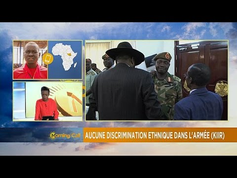 President Salva Kiir denies ethnic bias in army [The Morning Call]