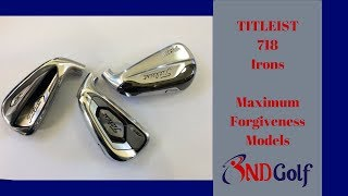 New Titleist 718 iron review(Ap1 v's Ap3 v's TMB)