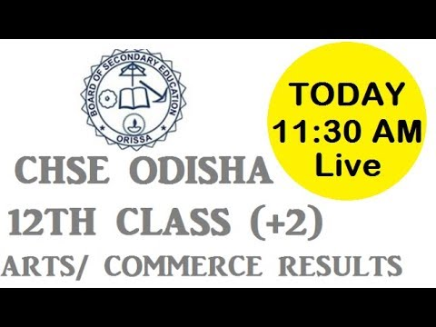Odisha CHSE Result 2018 Declared – Annual 12th +2 Results Arts, Science, Commerce Merit List