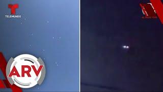 Supuestos OVNIS se hacen presentes en diferentes provincias de Argentina | Al Rojo Vivo | Telemundo