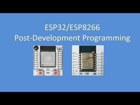 Tech Note 089 - ESP Programming (Break-out boards) - YouTube