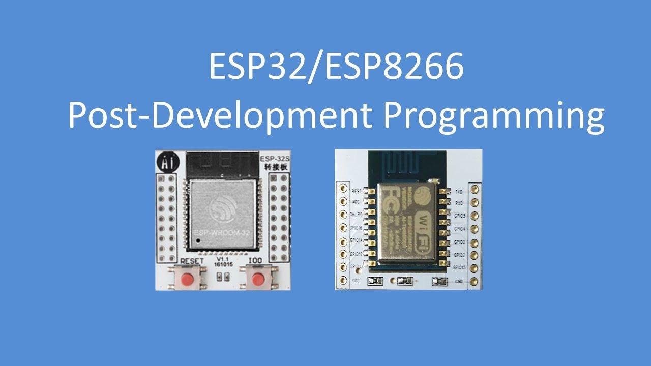 Tech Note 089 - ESP Programming (Break-out boards)