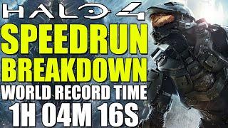 How Speedrunners beat Halo 4 in 1:04:16 (Halo 4 Speedrun)