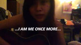 I am me once more guitar cover