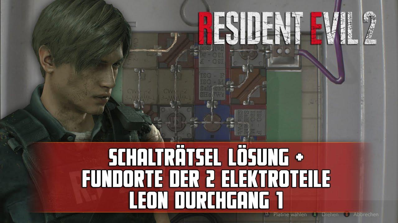 Resident Evil Lösung