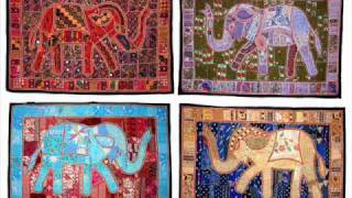 Tapestry wall hangings from india, Indian Decorative Wall Hangings.wmv Thumbnail
