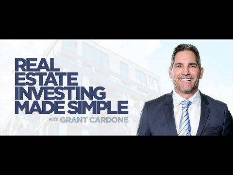 How Real Estate Made Me a Millionaire by 30- Real Estate Investing Made Simple Grant Cardone income