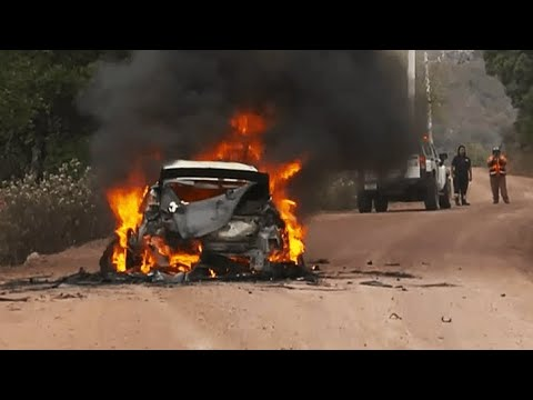 HUGE FIRE!  - Rally Mexico 2020