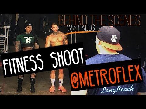 Behind The Scenes  METROFLEX  Fitness Shoot