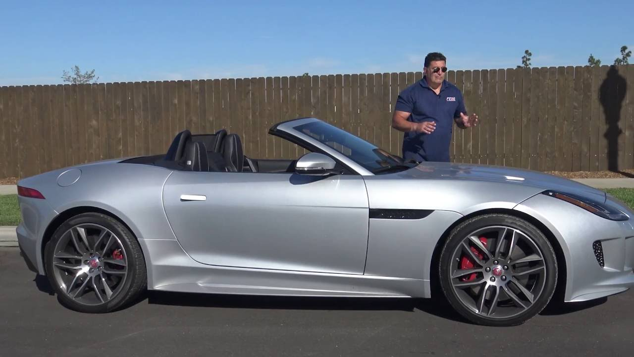 Jaguar F Type R Roadster Review One Of The Best Growls On Road Today