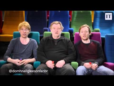 Domhnall, Brendan and Brian Gleeson  Tribute to Anne Clarke