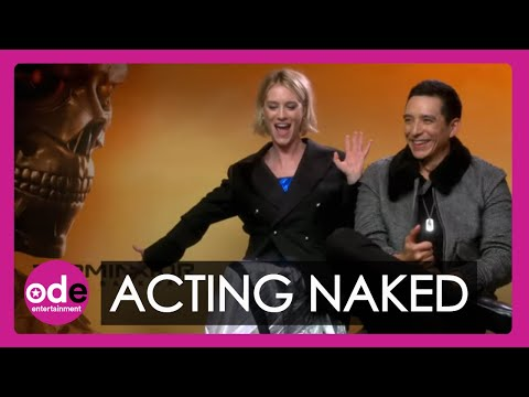 TERMINATOR: Mackenzie Davis & Gabriel Luna Talk Acting Naked