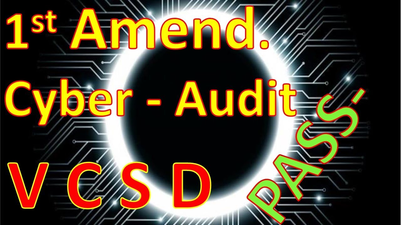 1st Amendment Cyber-Audit (Ventura County Sheriff's Department)