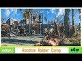 Building in Fallout 4 - Random Raider Camp