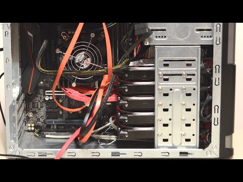 5 SATA hard drives RAID 0 benchmark and tutorial